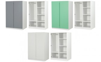 Bunk Bed 2 Doors Wardrobe