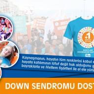 Down Sendromu Dostluk Yürüyüşü 2014