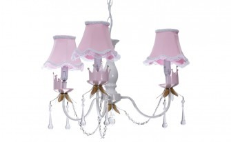 Prestij Ceiling Lighting / Pink